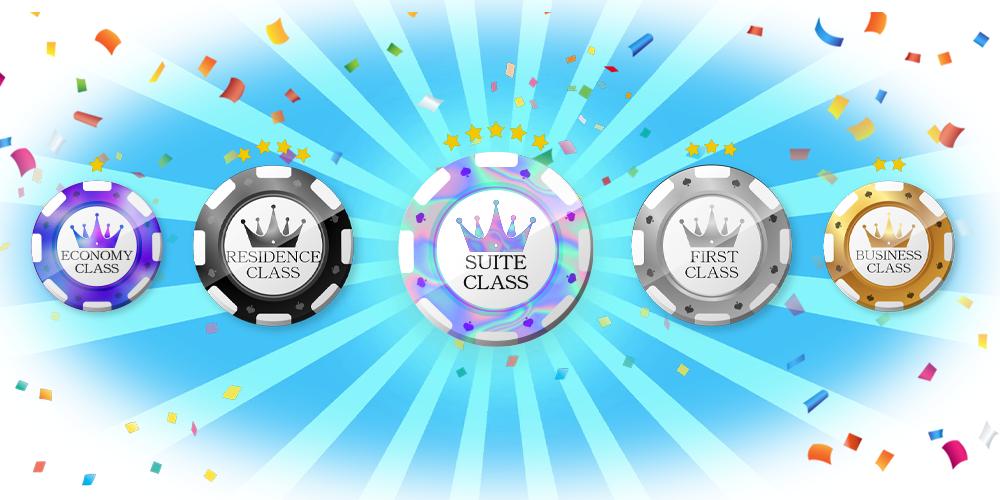 ワンダーカジノ(Wonder Casino)|5つのVIPレベル