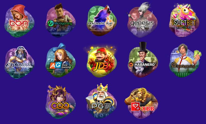 ワンダーカジノ(Wonder Casino) スロットのラインナップ